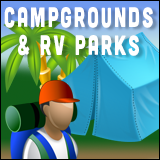 Blue Cypress Lake Campgrounds