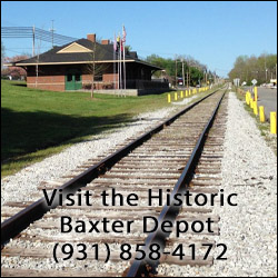 Historic Baxter, TN Depot