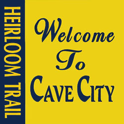 Welcome To Cave City Heirloom Trail