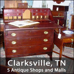 Clarksville, Tennessee Antiques