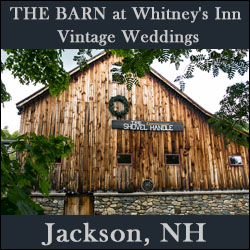 THE BARN at Whitney's Inn - Vintage Weddings