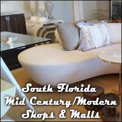 South Florida Mid-Century/Modern Shops & Malls
