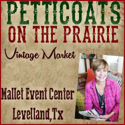 Petticoats on the Prairie Vintage Market