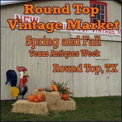 Round Top Vintage Market