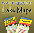 Cedar Key Waterproof Lake Maps and Fishing Maps