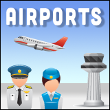 New Bern Airports