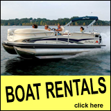 J. Edward Roush Lake Boat Rentals