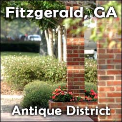 Fitzgerald Georgia Antique Shops