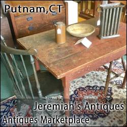 Antiques Marketplace and Jeremiah's Antiques & Collectibles - Putnam,CT
