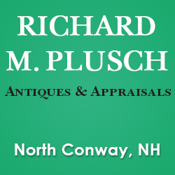 RICHARD M. PLUSCH Antiques and Appraisals