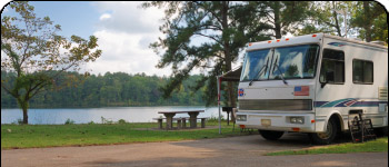 Lake JB Thomas RV Camping